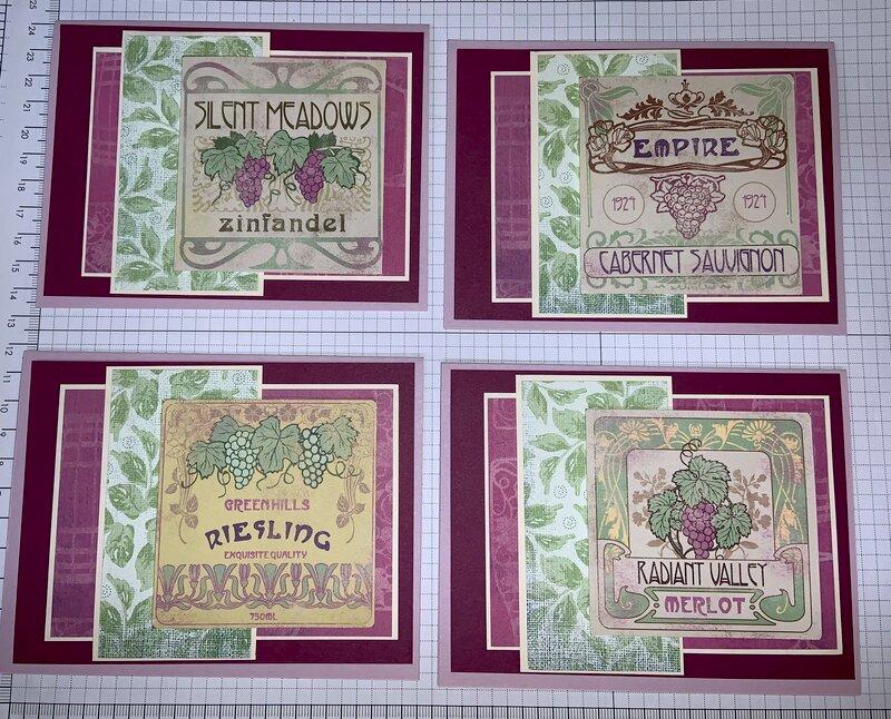 Wine Cards