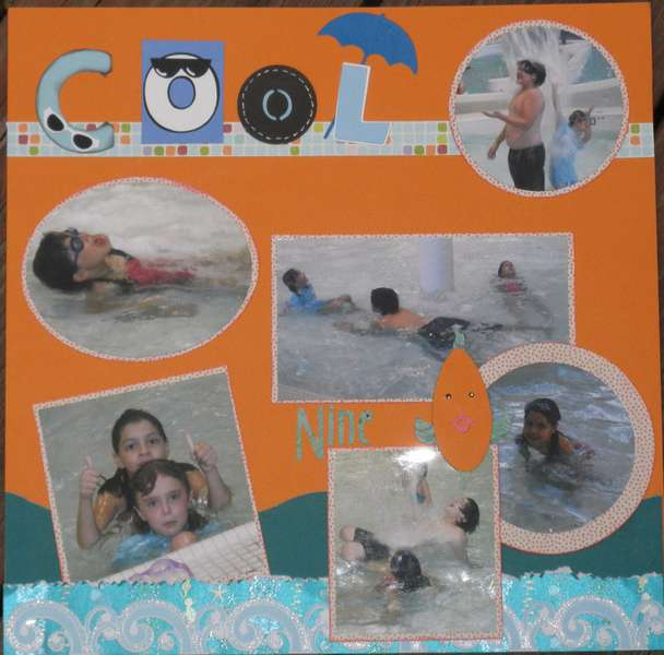 Anna's 9th Birthday Layout page 4