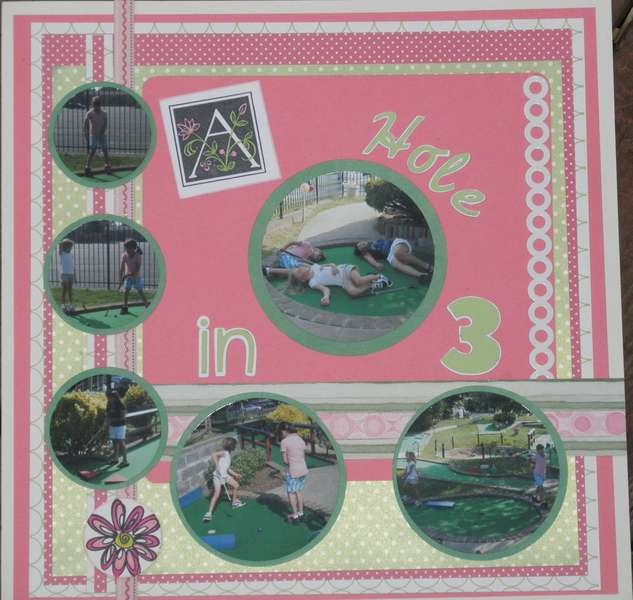 Anna's 9th Birthday Layout - Page 5