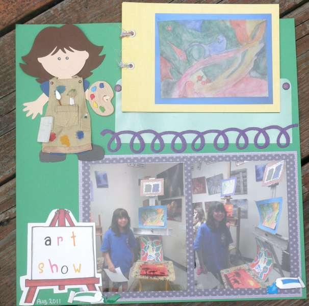 Art Show layout