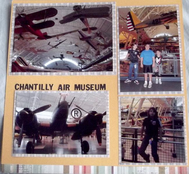 Chantilly Air Museum Layout Page 1