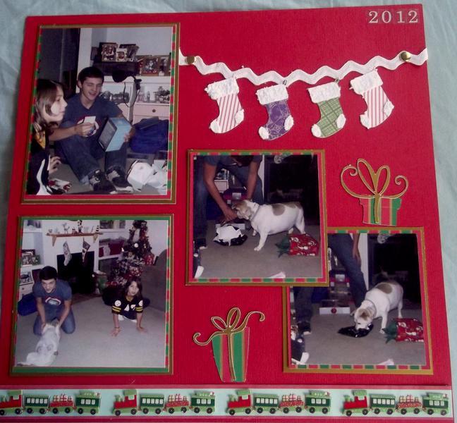 Christmas 2012 layout