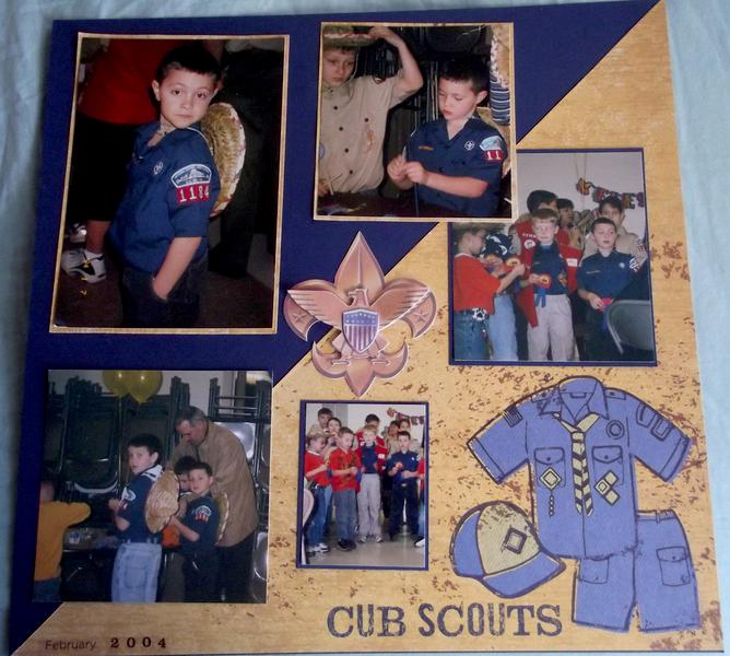 Cub Scouts Layout