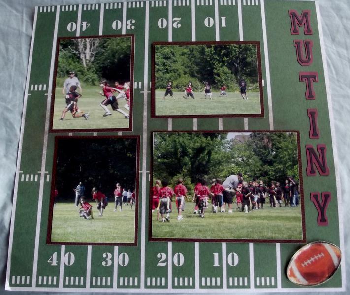 Football Layout Page 2