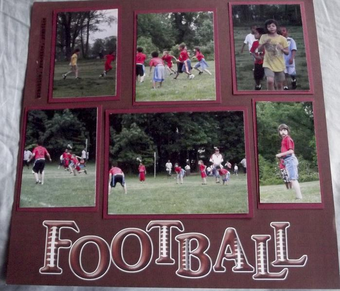 Football Layout Page 4