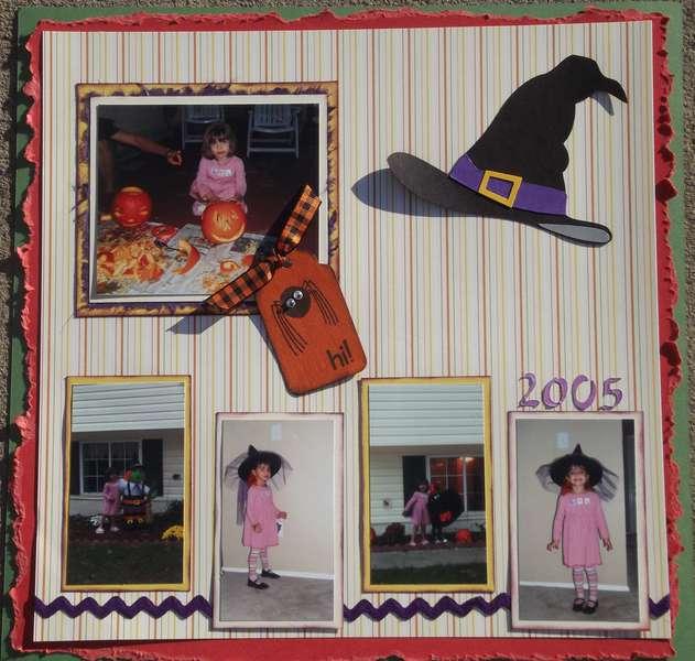Halloween 2005 layout