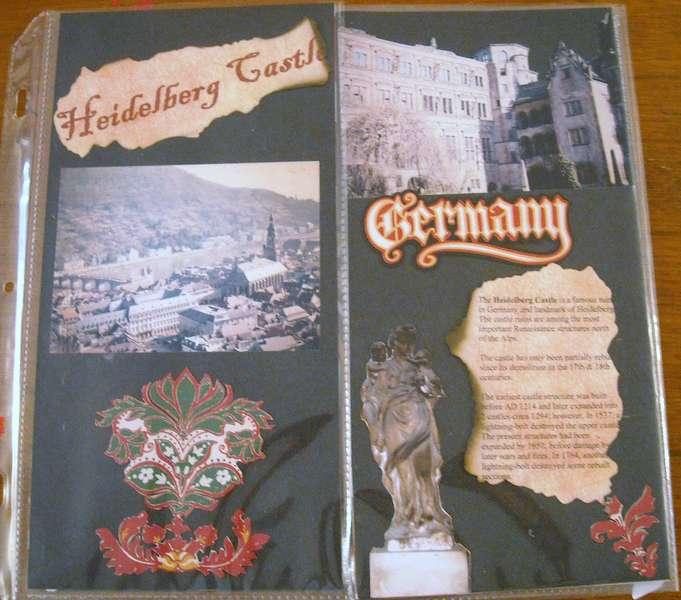Heidelberg Castle Front Page