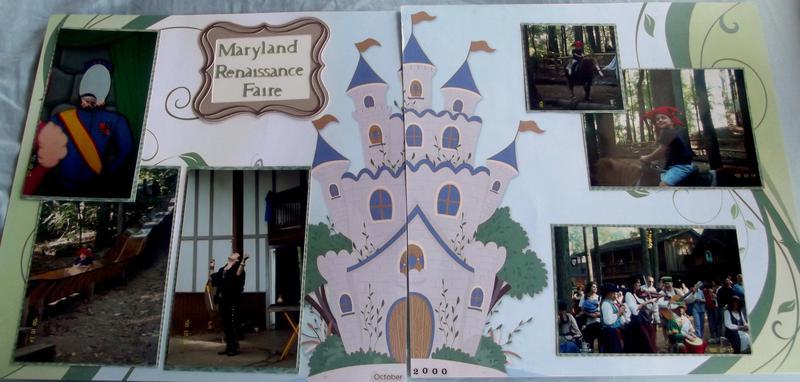 Maryland Renaissance Faire Layout