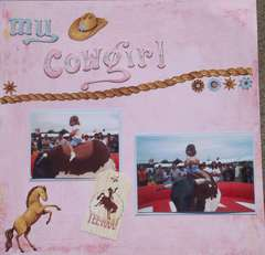 My Cowgirl Layout