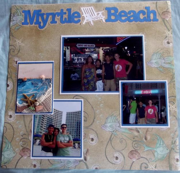 Myrtle Beach Layout Page 1