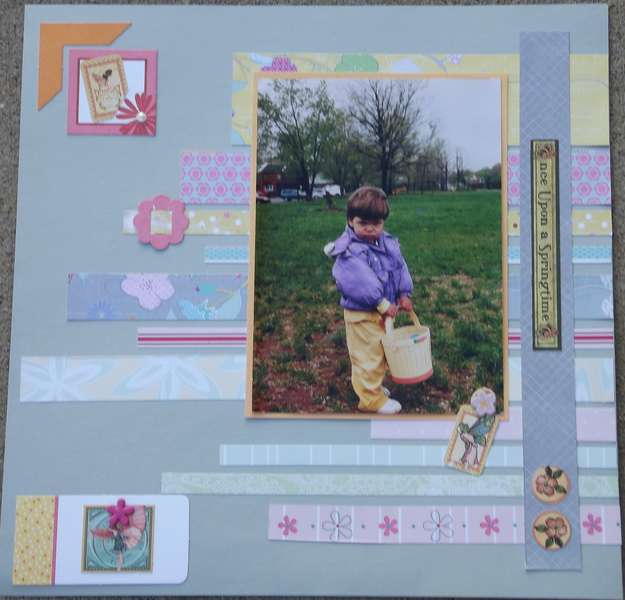 Once Upon a Springtime Layout