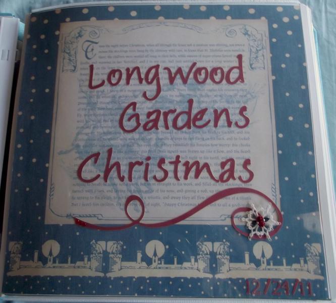 Longwood Gardens Christmas Page 1