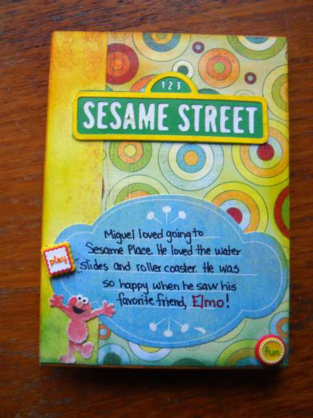 Sesame Place Mini Book - Front Cover