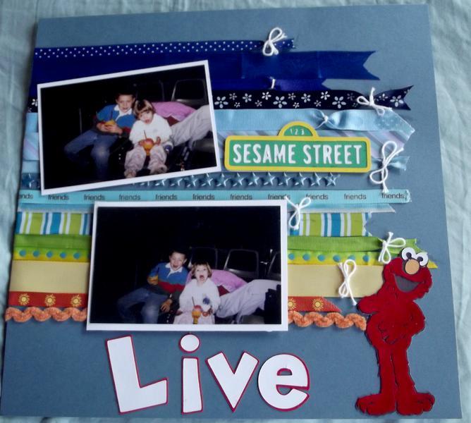 Sesame Street Live Layout