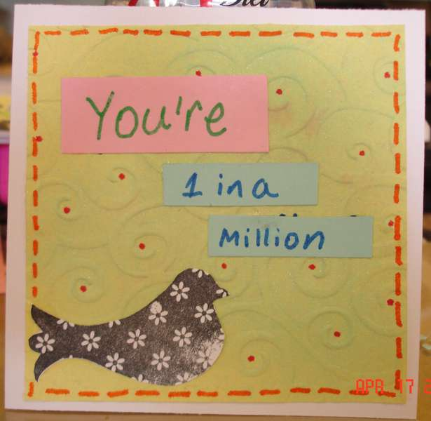 You're 1 in a million