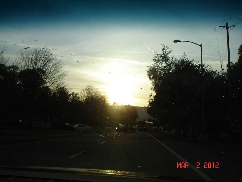 Sunlight before school