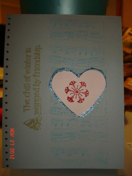 Christmas card 6