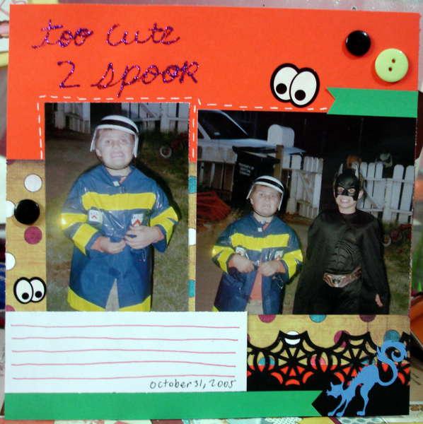 Too cute 2 spook