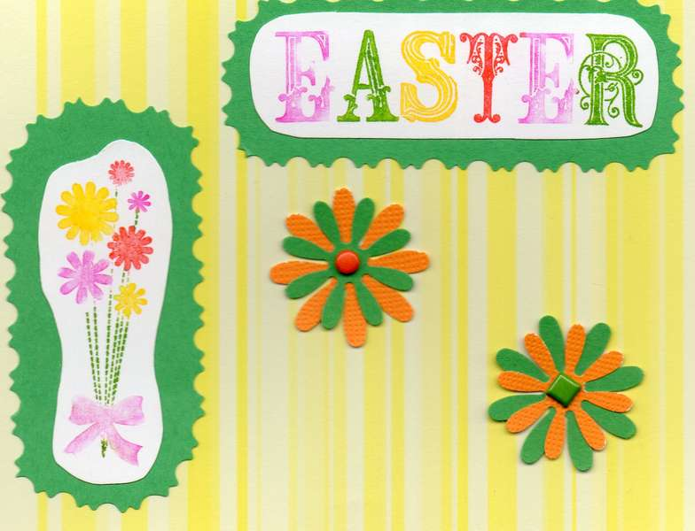 Easter - Green & Yellow