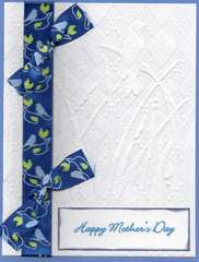 Mothers Day - Blue Bird