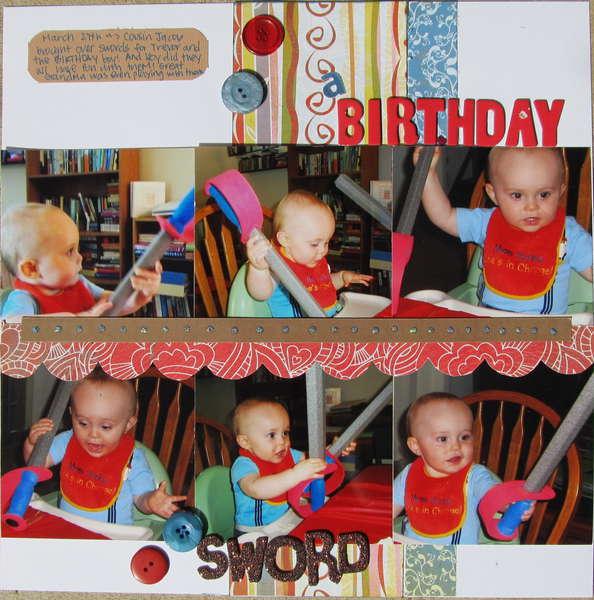 a Birthday Sword