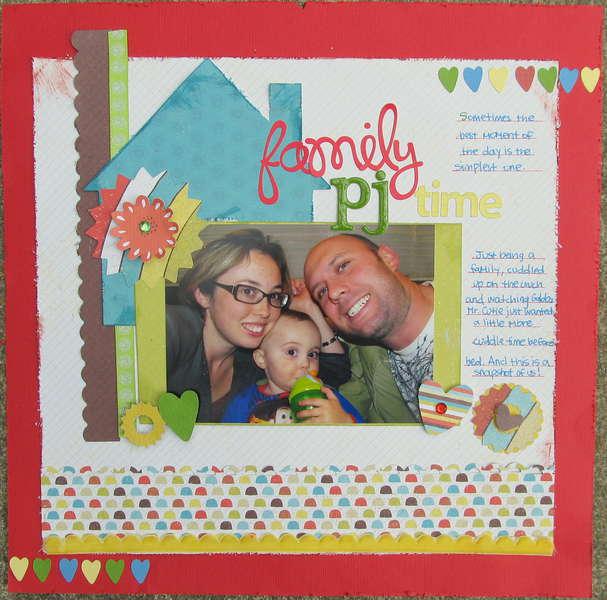 Family PJ Time