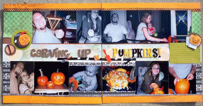Carving up Pumpkins