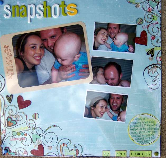 Snapshots of our Family