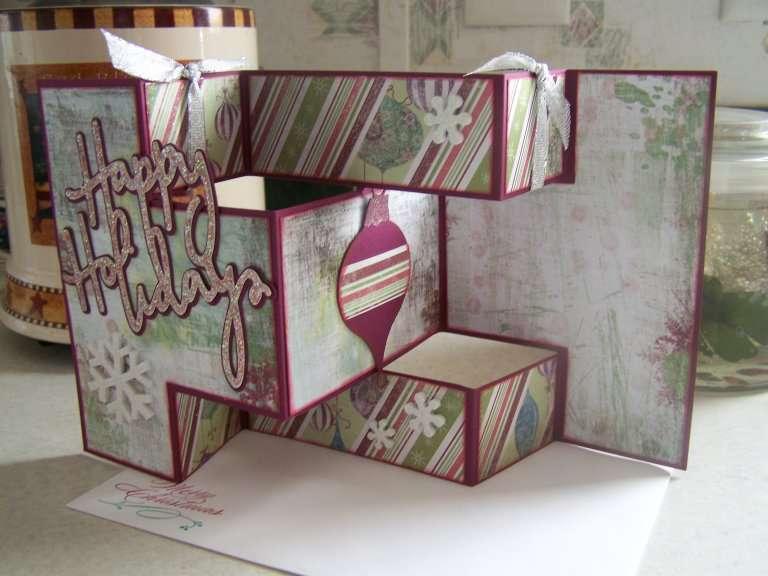 Happy Holidays Tri-Fold Card