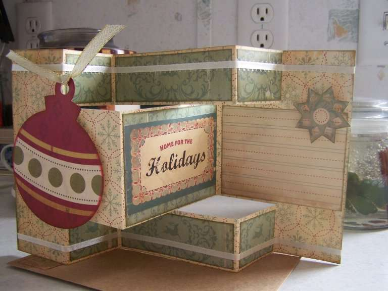 Ornament Tri-Fold Card