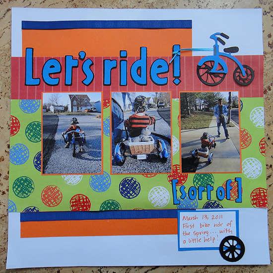 Let's ride! (sort of)