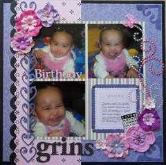 Birthday Grins