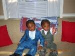 mommys twin boys
