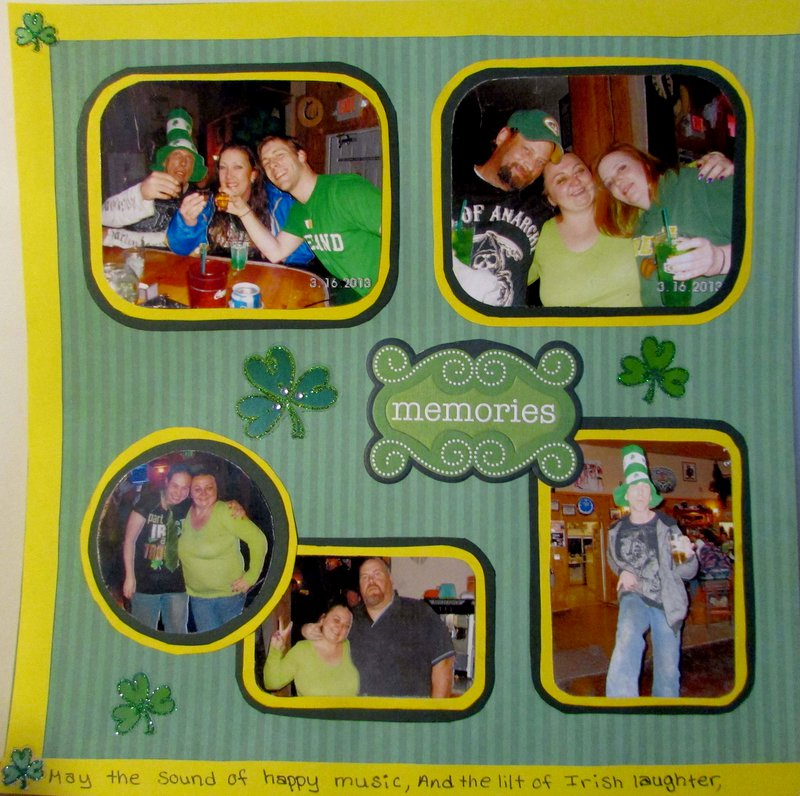 St. Patrick's Day - Left Page