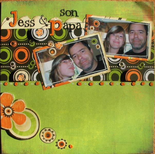 Jess et son papa