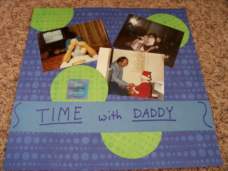 Time with daddy