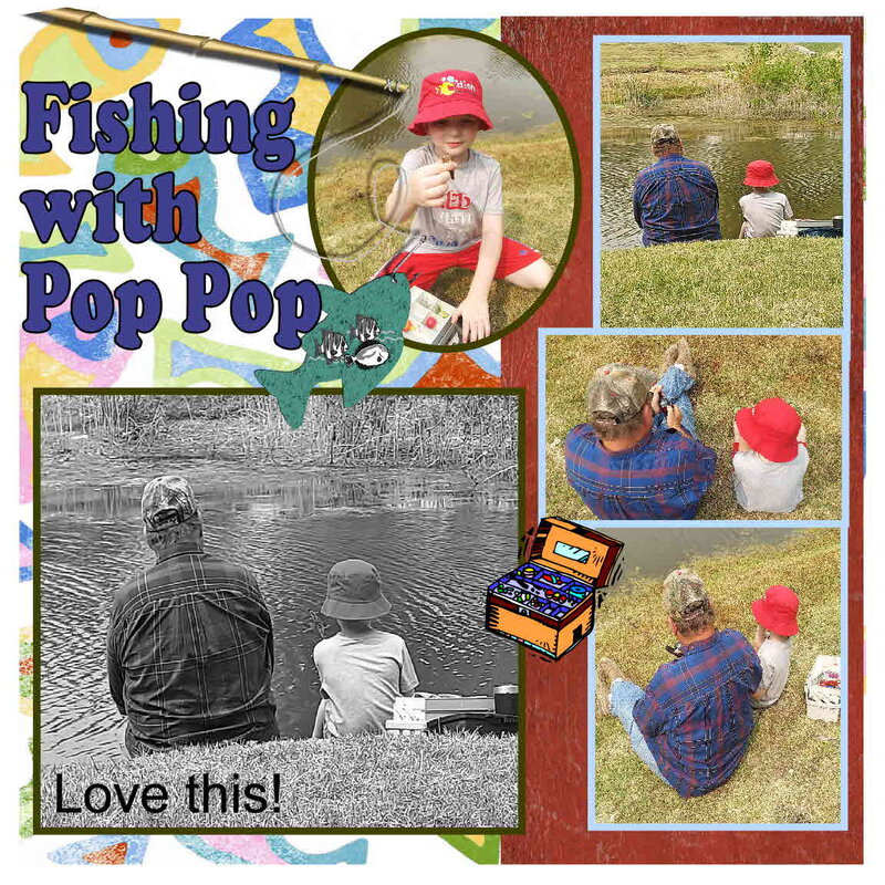 Fishing With Pop Pop