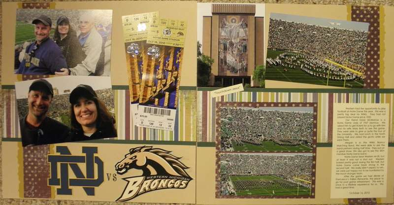 Notre Dame vs WMU Broncos
