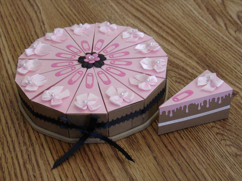 Paper Box (Baby Shower) Cake