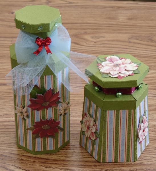 Paper Christmas Jars