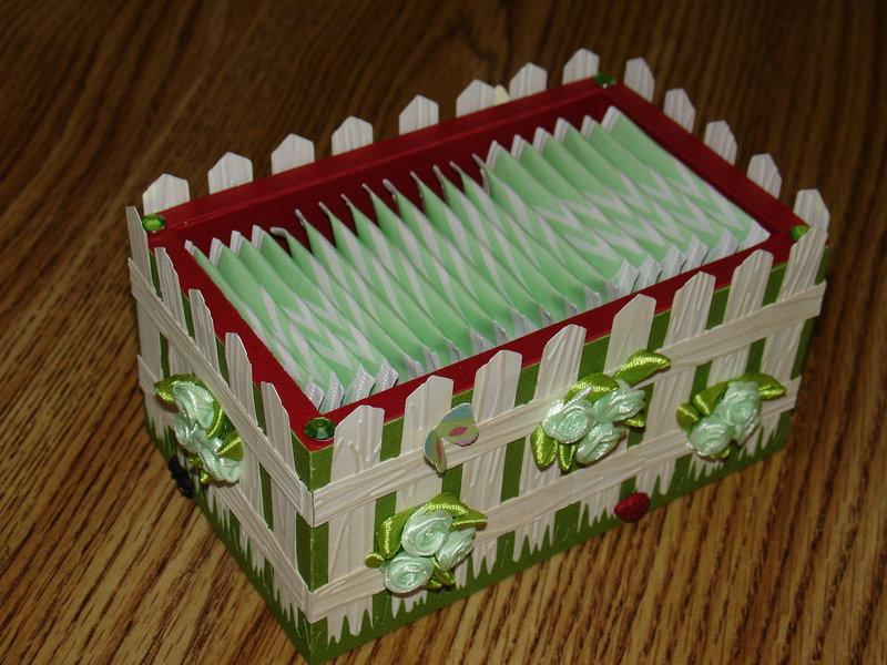 Paper Tea Box