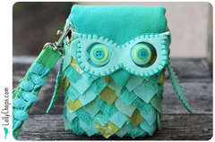 Edna the Owl Bag