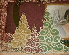 Dear Santa, Thank you (Tree closeup)