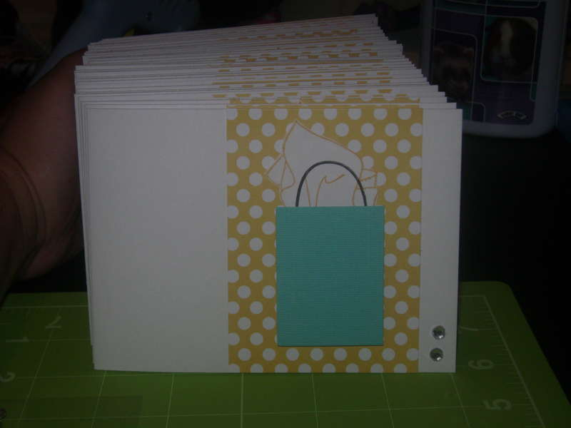 Thank you cards for Babyshower
