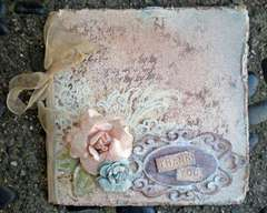 Fairy Dust Glitter card