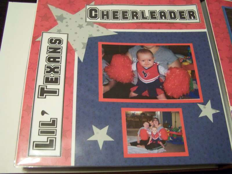 Lil' Texans Cheerleader Pg. 1