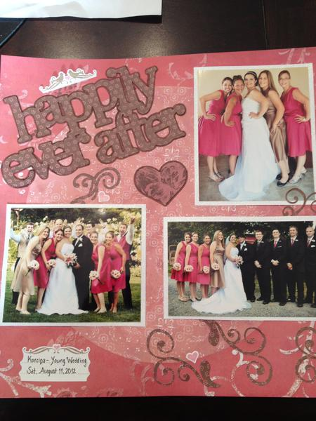 Happily Ever After - Friend's Wedding