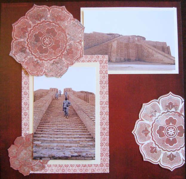 Ziggurat of Ur   Right Side