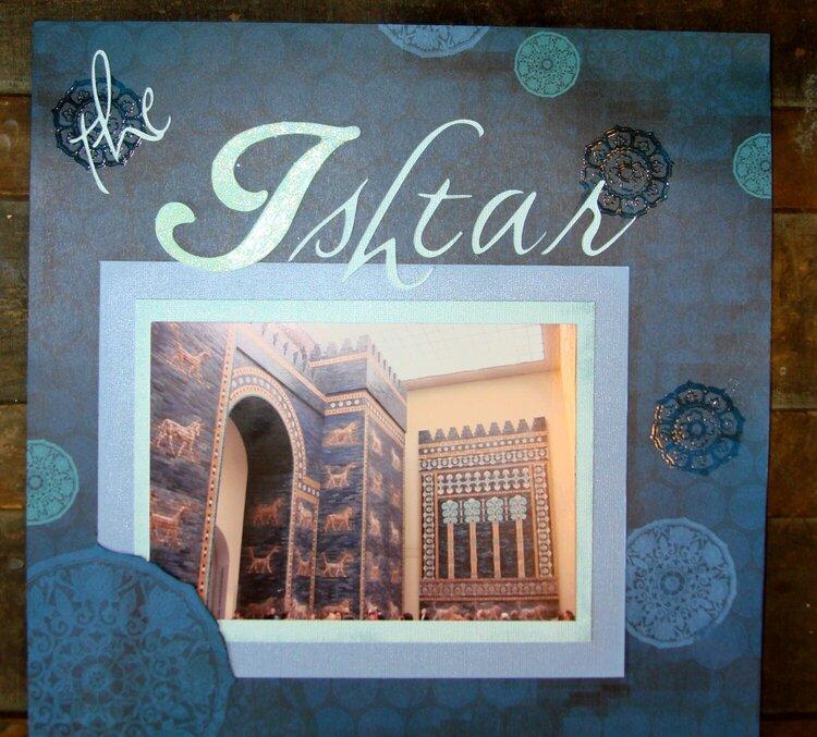 The Ishtar Gate (left side)
