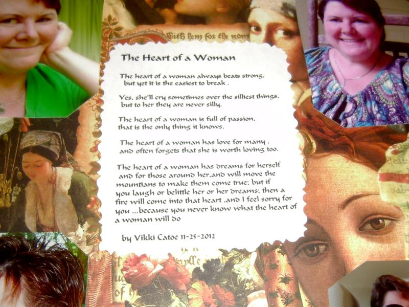 Heart of the woman